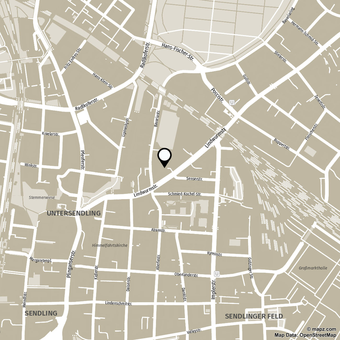 Map Studio Lindwurmstrasse
